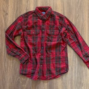 Faded Glory Red Flannel Shirt
